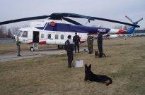 Vrtulník Mi-8, zvaný salón