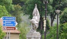 Volyně - pomnik