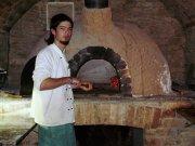Heřmanův Městec, názorná ukázka zhotoveni pizzy